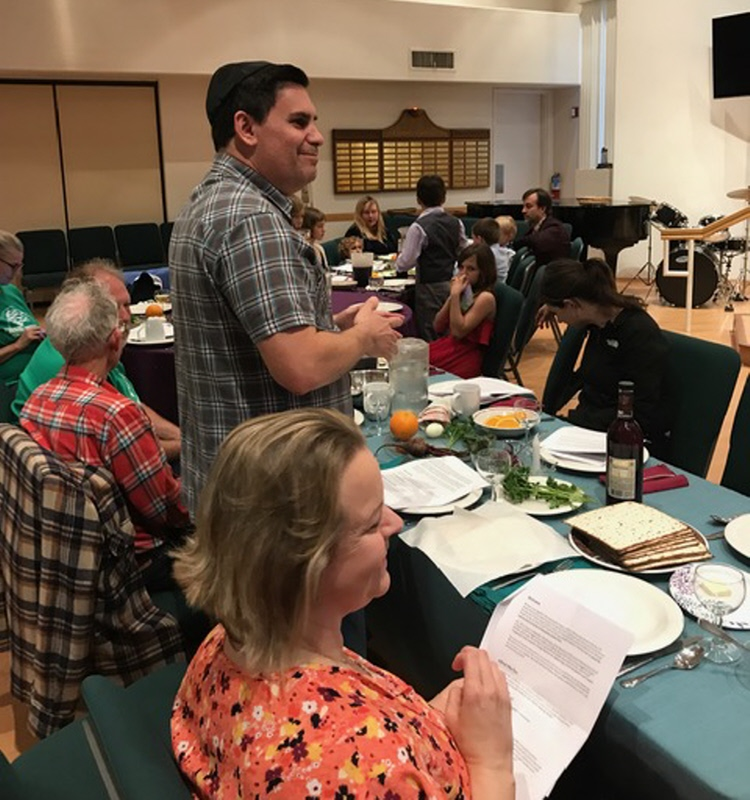Passover Feast at Emerson UU 2019 - thank you Adam Neisenholz_007