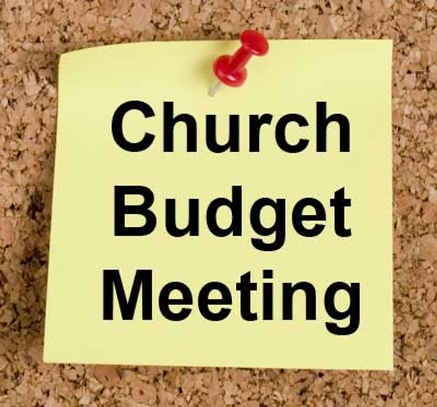 Important Budget Info Meeting ~ May 19
